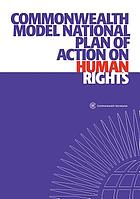 Commonwealth model national plan of action on human rights.