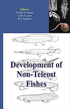 Development of non-teleost fishes