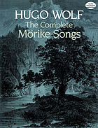 The complete Mörike songs