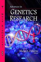 Advances in genetics research. Volume 1