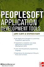 PeopleSoft application development tools