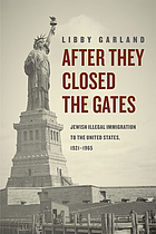 After they closed the gates : Jewish illegal immigration to the United States, 1921-1965