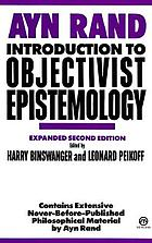Introduction to objectivist epistemology