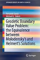 Geodetic Boundary Value Problem.