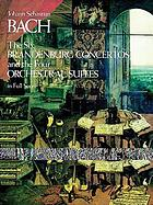 The six Brandenburg concertos [BWV 1046-1051] and the four orchestral suites [BWV 1066-1069]