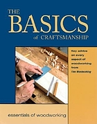 The basics of craftsmanship : key advice on every aspect of woodworking.