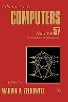 Advances in computers. Vol. 57, Information repositories