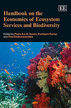 Handbook of the economics of ecosystem services and biodiversity