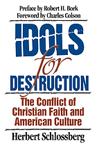 Idols for destruction : the conflict of Christian faith and American culture