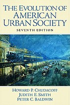 The evolution of American urban society