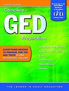 Steck-Vaughn complete GED preparation.