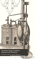 The steam engine familiarly explained and illustrated; with an historical sketch of its invention and progressive improvement; its applications to navigation and railways; with plain maxims for railway speculators.