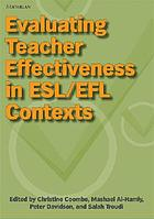 Evaluating teacher effectiveness in ESL/EFL contexts