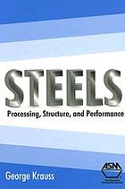 Steels : processing, structure, and performance