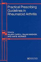 Practical prescribing guidelines in rheumatoid arthritis