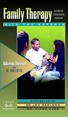 Adlerian therapy