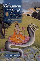 An ornament for jewels : love poems for the Lord of Gods