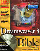 Dreamweaver 3 bible