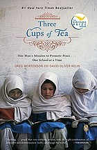 Reader's Voice Book Club kit for Three cups of tea by Greg Mortenson