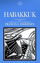 Habakkuk : a new translation with introduction and commentary