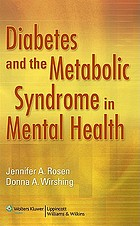 Diabetes and the metabolic syndrome in mental health