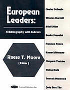European leaders : a bibliography with indexes