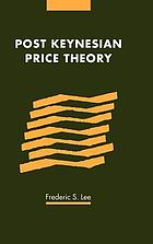 Post Keynesian price theory