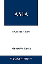 Asia : a concise history