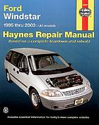 Ford Windstar automotive repair manual
