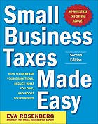 Small business taxes made easy
