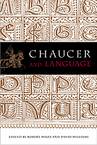 Chaucer and language : essays in honour of Douglas Wurtele