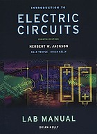Introduction to electric circuits. Lab manual