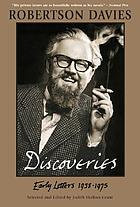 Discoveries : early letters 1938-1975