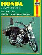 Honda GL1000 Gold Wing owners workshop manual