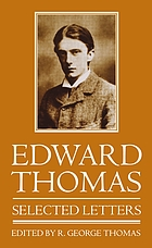 Edward Thomas : selected letters