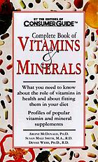 Complete book of vitamins & minerals