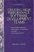 Creating high performance software development teams