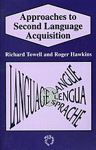Approaches to second language acquisition