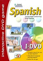 Spanish language learning DVD game