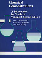 Chemical demonstrations : a sourcebook for teachers