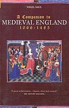 A companion to medieval England, 1066-1485