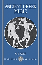 Ancient Greek Music cover image