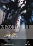Macbeth, William Shakespeare : notes by James Sale.