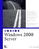 Inside Windows 2000 server