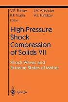 High-Pressure Shock Compression of Solids VII : Shock Waves and Extreme States of Matter
