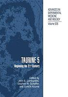 Taurine 5 : Beginning the 21st Century