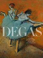 Degas's : Dancers at the barre : point and counterpoint