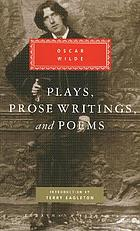 Plays, prose writings, and poems