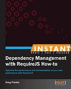 Instant Dependency Management with RequireJS How-to.