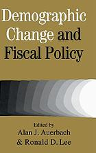 Demographic change and fiscal policy